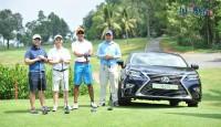 lexus viet nam dong hanh cung cac golf thu viet