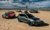 kia ra mat suv co lon telluride 2020 doi thu ford explorer