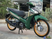 honda wave 125i do day ca tinh cua biker xu so chua vang