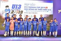 yamaha to chuc giai bong da thieu nien u13 yamaha cup 2019