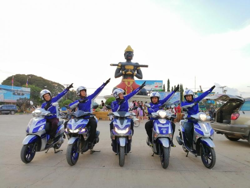 yamaha tiep tuc hanh trinh phuot asean blue core touring