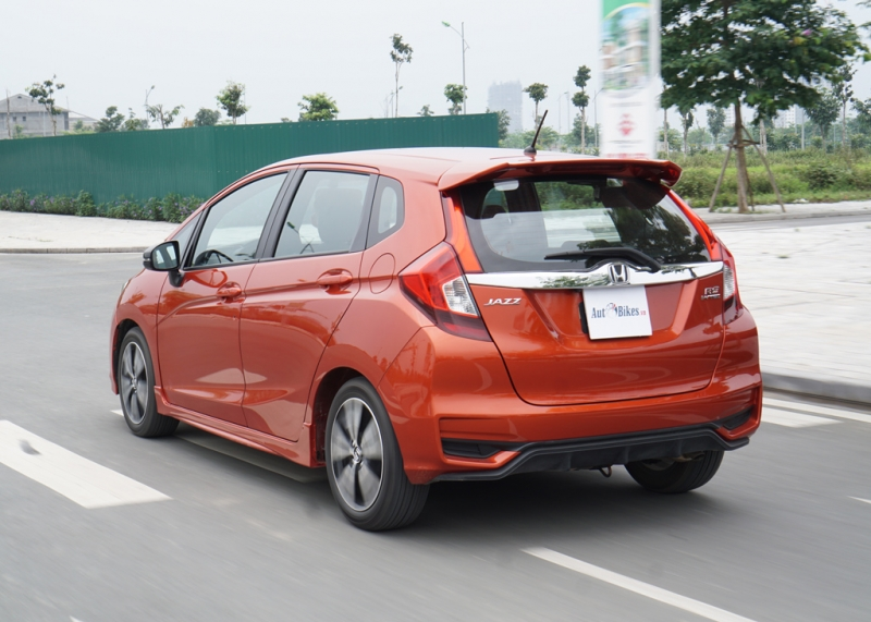 lai honda jazz rs 2018