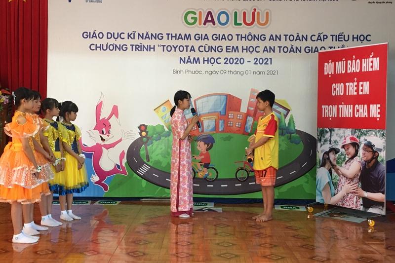 Toyota khởi động chương trình dạy trẻ kỹ năng tham gia giao thông năm 2021