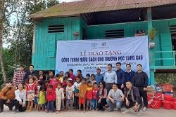 Quỹ Toyota Việt Nam bàn giao hệ thống lọc nước cho trường tiểu học tại Quảng Bình