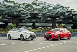 Chùm ảnh chi tiết Toyota Vios 2021