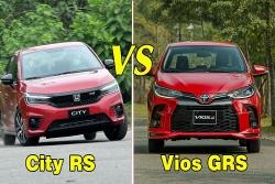 Video: có hơn 600 triệu, chọn Honda City RS hay Toyota Vios GR-S?