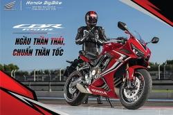 Honda CBR650R, CBR500R và CB500F có phiên bản mới tại Việt Nam