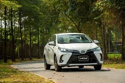 Toyota Vios 2021: Bước tiến của kẻ dẫn dầu