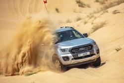Thử thách Ford Ranger trên sa mạc nắng nóng hơn 50 độ