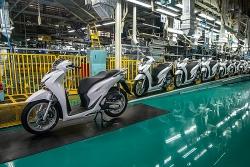 Honda Việt Nam xuất khẩu gần 1 triệu xe máy sau 25 năm