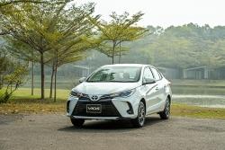 Toyota Vios là mẫu xe Toyota bán chạy nhất trong tháng 4