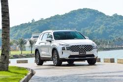 Video: Hyundai Santa Fe 2021 giá từ 1,03 tỷ đồng, có gì đấu Fortuner, Everest?