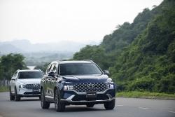 Giá lăn bánh Hyundai Santa Fe 2021