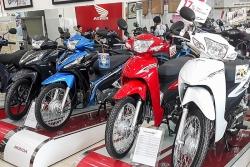 Bảng giá xe máy Honda ngày 31/5/2021
