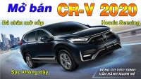 video mo ban cr v 2020 co honda sensing da chan mo cop