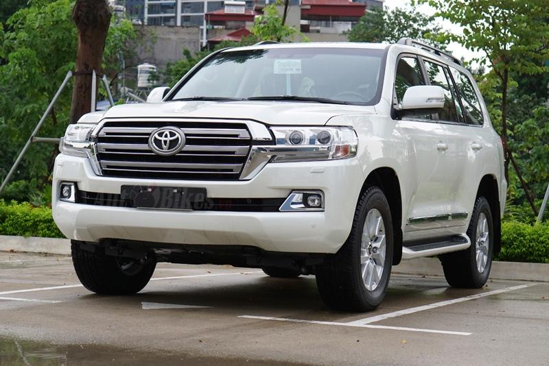 Chi tiết Toyota Land Cruiser 2020 giá 4 tỷ đồng tại Việt Nam