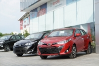 video dau voi toyota vios honda city tung chieu moi