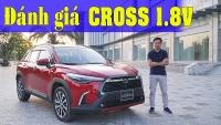 video danh gia corolla cross 18v dang mua trong tam gia 800 trieu