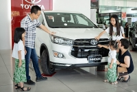 toyota vios fortuner dong loat giam cao nhat toi 155 trieu