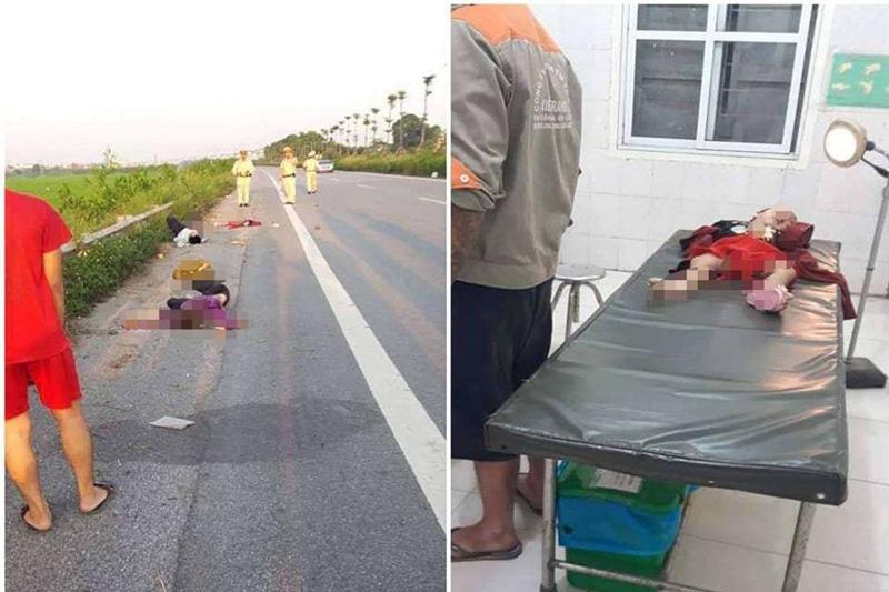 Hà Nội: Gia đình 4 người gặp tai nạn thương tâm