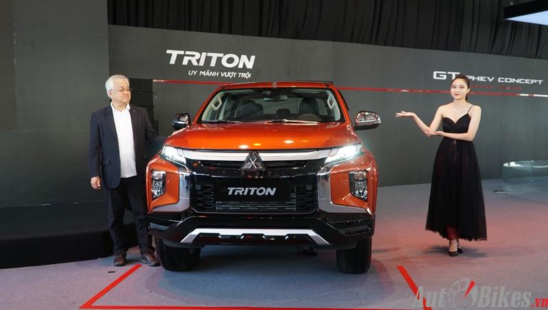 Mitsubishi Triton 2020 giá từ 600 triệu đồng tại Việt Nam