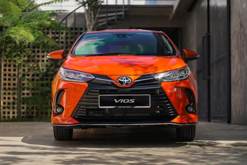 Toyota Vios 2021 có Toyota Safety Sense, camera 360 độ tại Malaysia