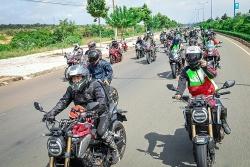 Gần 200 biker quy tụ tại Đại hội Mô tô Honda 2020