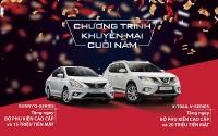 Nissan Việt Nam tung khuyến mại lớn dịp cuối năm