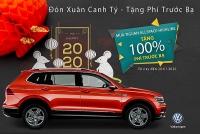 mung xuan canh ty volkswagen tang phi truoc ba 200 trieu dong