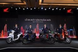 Honda Vision 2021 nâng cấp thiết kế, thêm phiên bản, giá từ 30 triệu đồng