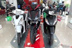 Bảng giá xe máy Honda ngày 13/1/2021
