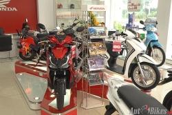 Bảng giá xe máy Honda ngày 12/1/2021