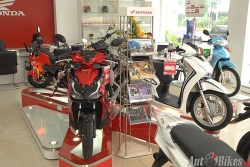 Bảng giá xe máy Honda ngày 19/1/2021