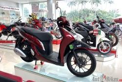 Bảng giá xe máy Honda ngày 4/3/2021