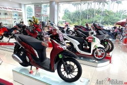 Bảng giá xe máy Honda ngày 11/1/2021