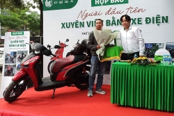 Trải lòng sau hành trình xuyên Việt bằng xe điện Pega-S