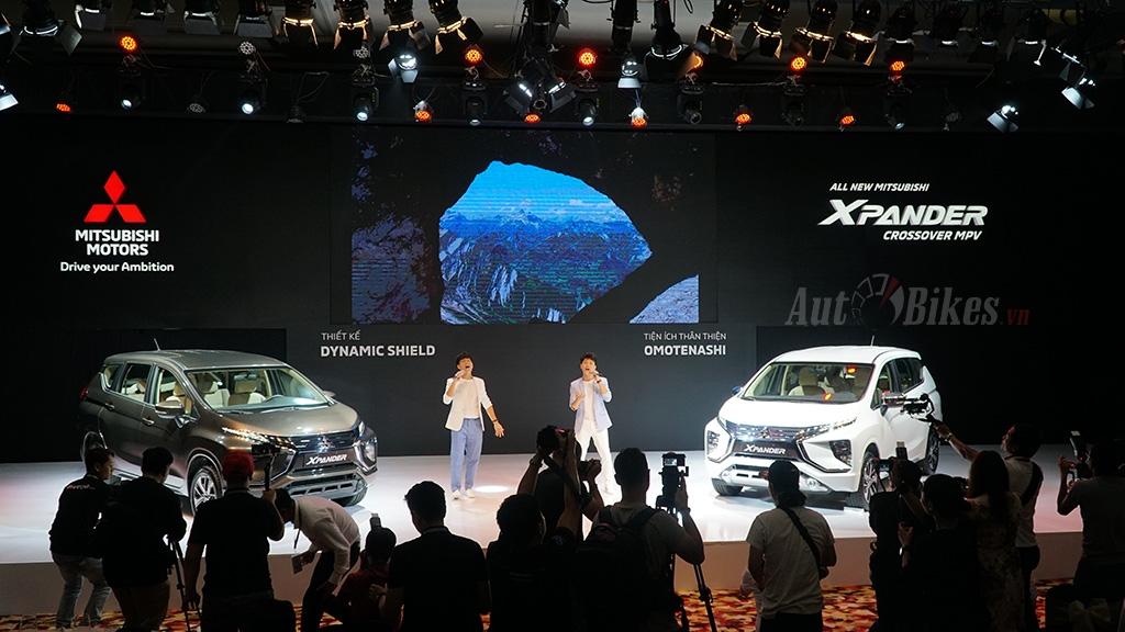 mitsubishi xpander 2019 gia tu 550 trieu dong tai viet nam