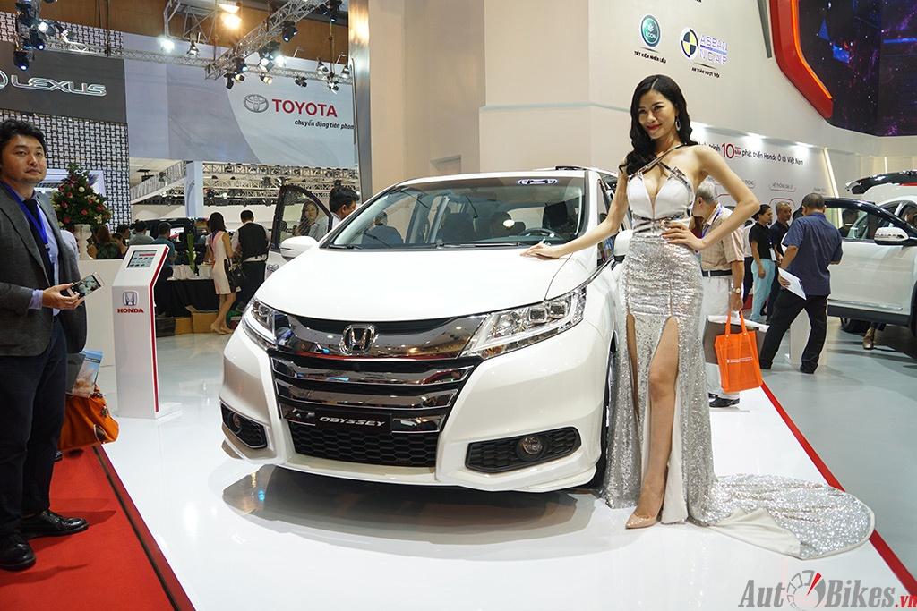 kham pha dan xe honda tai vms 2016