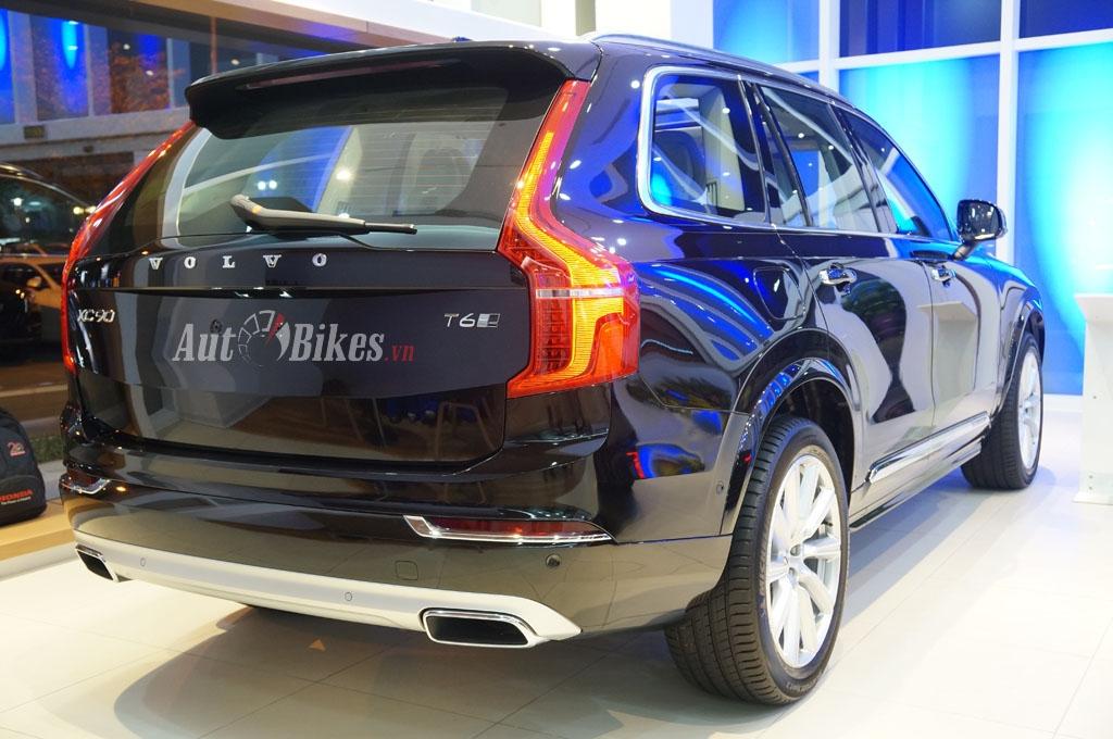 Chi tiết Volvo XC90 2016 giá gần 4 tỷ đồng tại Hà Nội
