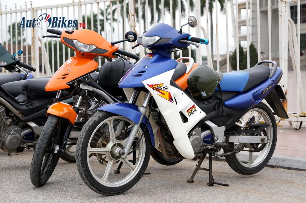 suzuki fx 125 huyen thoai vang bong