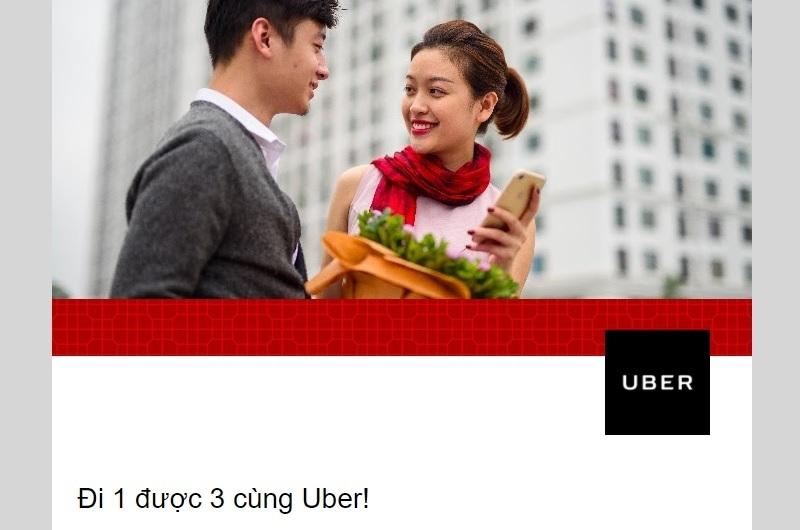 cuoi thang 8 grab va uber khuyen mai den 500 nghin dong