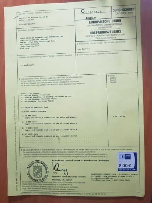 Thaco nhập hơn 300 xe BMW và MINI đầu tiên
